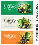 st. patrick's day modern... | Shutterstock .eps vector #1641006802