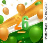 happy india republic day  26... | Shutterstock .eps vector #1641032818