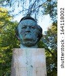 statue of richard wagner in... | Shutterstock . vector #164118002