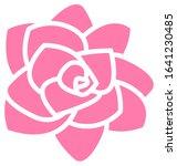 rose flower icon   isolated on...   Shutterstock .eps vector #1641230485
