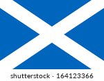background of scotland flag | Shutterstock . vector #164123366