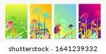 abstract set summer background... | Shutterstock .eps vector #1641239332