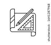 paper  ruler  pencil icon....