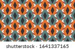 seamless geometric pattern. ... | Shutterstock .eps vector #1641337165