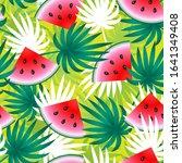 summer background. tropical...   Shutterstock .eps vector #1641349408