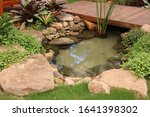 Small Artificial Lake With A...