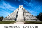 chichen itza  mexico   february ... | Shutterstock . vector #164147918