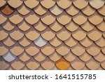 Clay Tiles Texture Background...