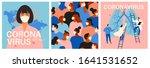 coronavirus in china. novel... | Shutterstock .eps vector #1641531652