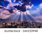 Rays Of Light Shining Through...