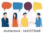 the concept of social... | Shutterstock .eps vector #1641575668
