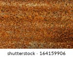 grunge rusty iron background   Shutterstock . vector #164159906