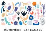 abstract collection with cut... | Shutterstock .eps vector #1641621592