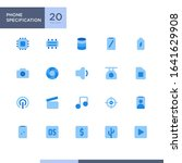 phone specification icon pack...