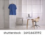 doctor's office interior with... | Shutterstock . vector #1641663592
