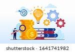 creative idea with study... | Shutterstock .eps vector #1641741982