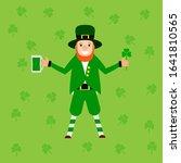 image of the saint patrick... | Shutterstock .eps vector #1641810565