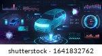 polygonal auto hologram with...