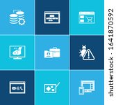 webdesign icon set and software ...