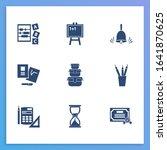 education icon set and diploma...