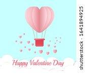 happy valentine day.valentine...   Shutterstock .eps vector #1641894925