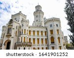 Facade Of Hluboka Castle ...