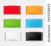 color clothing labels set...   Shutterstock . vector #1641928642