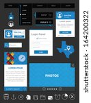 flat user interface design kit