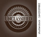 Unclassified wooden signboards. Vector Illustration.