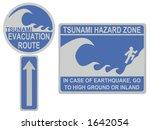 Tsunami Evacuation Route And...