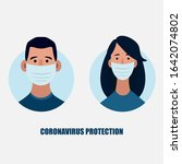 coronavirus in china. novel... | Shutterstock .eps vector #1642074802