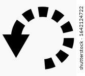circular arrow icon. download...