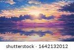 Beautiful Anime Sunset Sky...