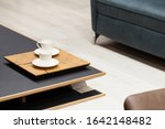 small coffee table comfortable... | Shutterstock . vector #1642148482