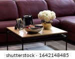 small coffee table comfortable... | Shutterstock . vector #1642148485