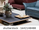small coffee table comfortable... | Shutterstock . vector #1642148488