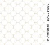 decorative seamless geometric... | Shutterstock .eps vector #1642214092