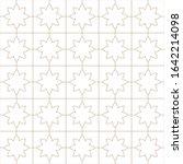 decorative seamless geometric... | Shutterstock .eps vector #1642214098