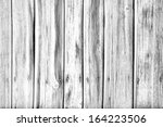 black and white wood texture | Shutterstock . vector #164223506