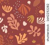 matisse inspired shapes...   Shutterstock .eps vector #1642252282
