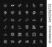 editable 36 ambulance icons for ... | Shutterstock .eps vector #1642256725
