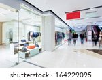 boutique display window with... | Shutterstock . vector #164229095