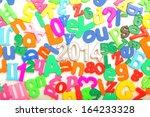 2014 letters | Shutterstock . vector #164233328