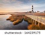 north carolina outer banks... | Shutterstock . vector #164239175