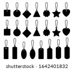price tag blank set. collection ... | Shutterstock .eps vector #1642401832