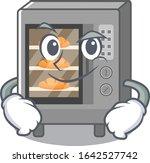 cool oven cake mascot character ... | Shutterstock .eps vector #1642527742