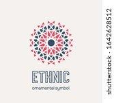 mosaic arabic ornament.... | Shutterstock . vector #1642628512