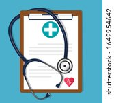 medical background with... | Shutterstock .eps vector #1642954642