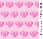 gradient colored heart seamless ...   Shutterstock .eps vector #1643043058