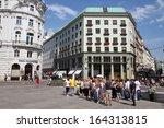 vienna   september 5  people... | Shutterstock . vector #164313815